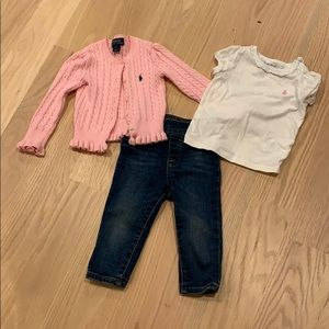 Polo Girls Outfit